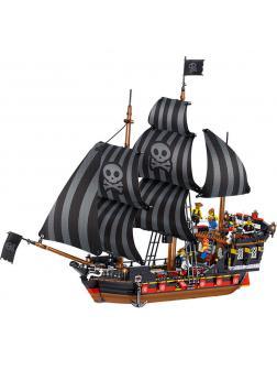 Конструктор Zhe Gao «Пиратский Корабль» QL1801 (Pirates of the Caribbean) / 987 деталей
