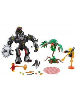 Конструктор PRCK «Робот Бэтмена против робота ядовитого Плюща» 64046 (DC Super Heroes 76117) / 405 деталей