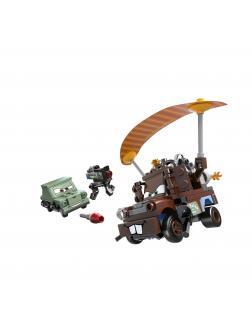 Конструктор Bl «Побег Агента Мэтра» 10009 (Cars 9483) / 144 детали