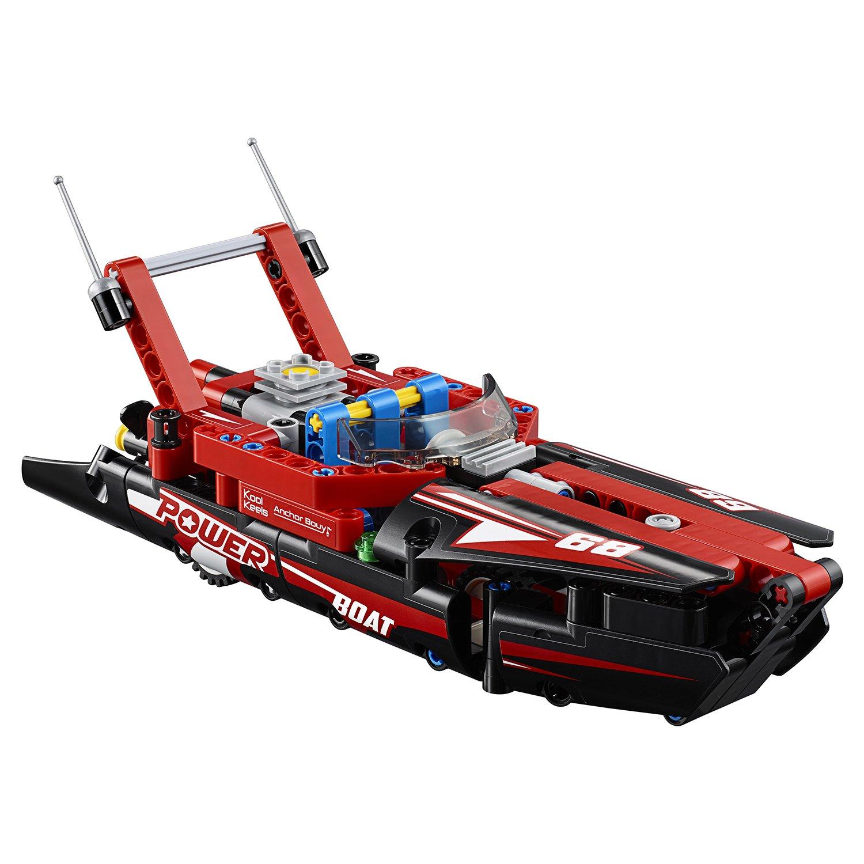 Конструктор JiSi bricks «Моторная лодка» 13383 (42089) 186 деталей