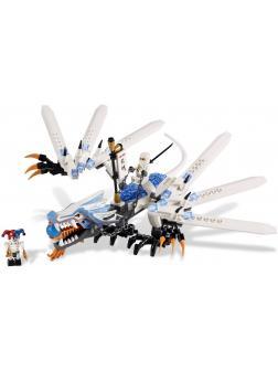 Конструктор Bl «Атака ледяного дракона» 9729 (Совместимый с ЛЕГО НиндзяГо 2260) 158 деталей