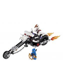 Конструктор Bl «Мотоцикл – череп» 9728 (НиндзяГо 2259) 156 деталей