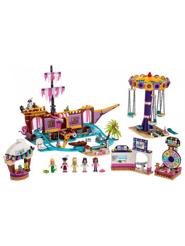 Конструктор Queen «Прибрежный парк развлечений» 86065 (Френдс 41375) 1378 деталей