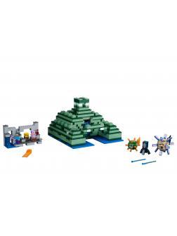 Конструктор Ll «Подводная крепость» 33083 (Minecraft 21136) 1134 детали