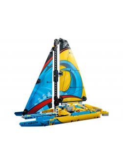 Конструктор DECOOL «Гоночная яхта» 3374 (Technic 42074) 338 деталей