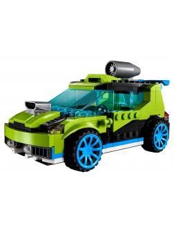 Конструктор DECOOL «Суперскоростной раллийный автомобиль» 3128 (Creator 31074) / 241 деталь