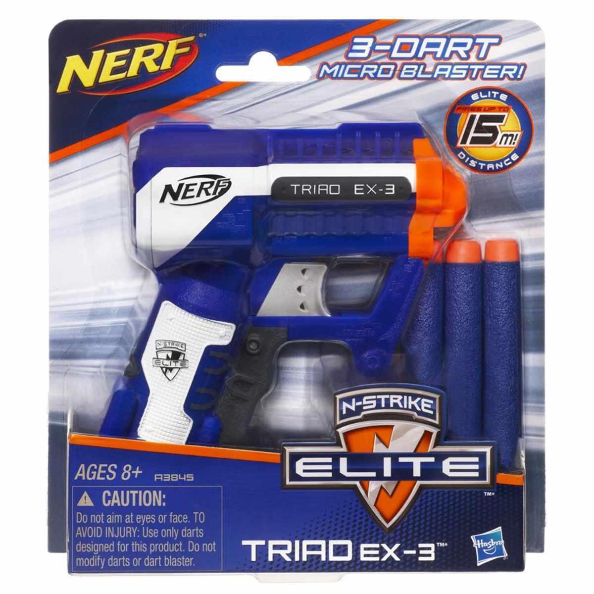 Игрушечный Бластер НЕРФ Элит «Триад» (Nerf Elite Triad) A1690EUA Hasbro / Микс