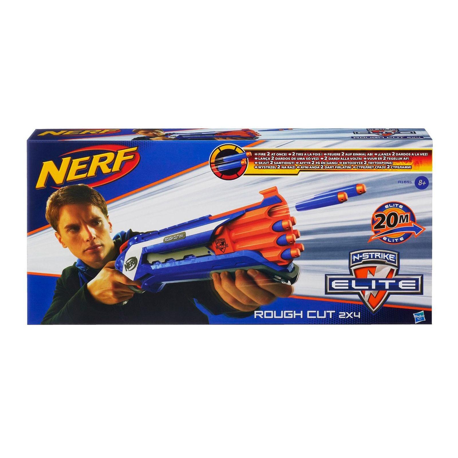 Игрушечный Бластер НЕРФ Элит «Рафкат» (Nerf Elite Rough Cut) A1691