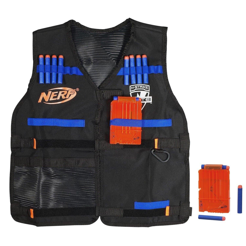 Тактический Жилет агента NERF Elite + патроны 12 штук (A0250)