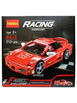 Конструктор «Speed Ferrari F430» 8613 512 деталей