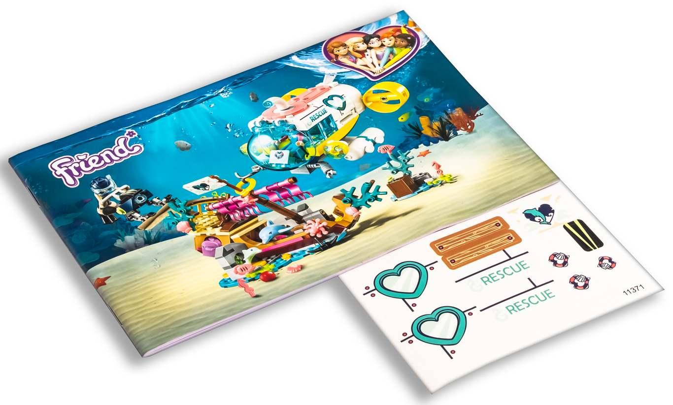 Конструктор Lari «Спасение дельфинов» 11371 (Френдс 41378) / 380 деталей