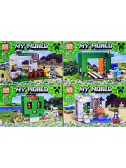 Конструктор PRCK «Шахта» 63012 (Minecraft) 4 вида