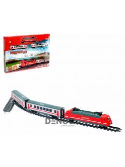 Железная дорога Поезд на Р/У «Супер-Экспресс Молния», 239 см. 9712-1B / Play Smart