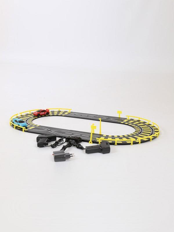 Детский игрушечный Автотрек Play Smart «Параллельные гонки» 0808 / 186 см.