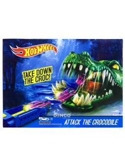 Игровой набор Hot Wheels «Атака Крокодила»