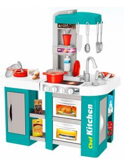 Детская игровая кухня с водой «Юный повар», 53 аксессуаров, высота 73 см / Kitchen Chef