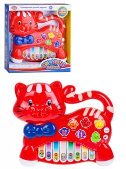 Пианино детское Play Smart «Котик» /  7657А