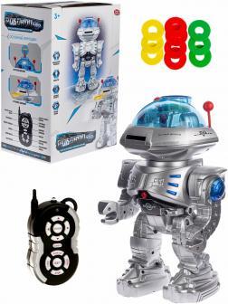 Интерактивный Робот Play Smart «Робовоин Рыцарь» 9894 на радиоуправлении, Свет, Звук