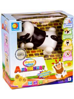 Робот-игрушка радиоуправляемый «Милая собака Альпинист» XMY8075, лазает по стенам, со светом