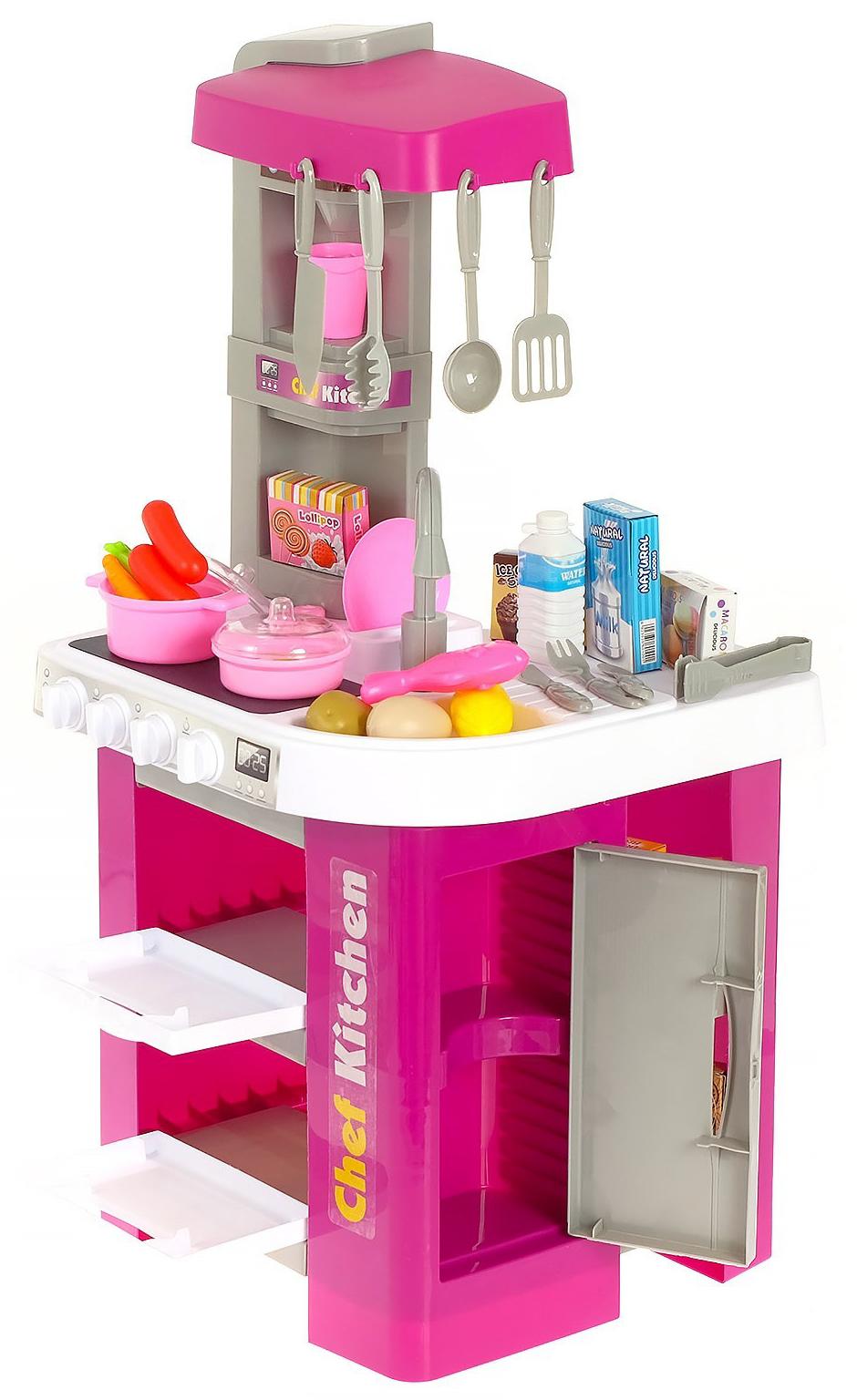 Детская игровая кухня с водой «Юный повар», 53 аксессуара, высота 73 см. 922-47 / Kitchen Chef