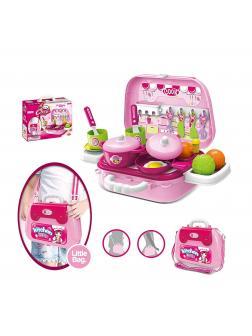 Игровой набор кухня для детей 24 аксессуара / Little chef