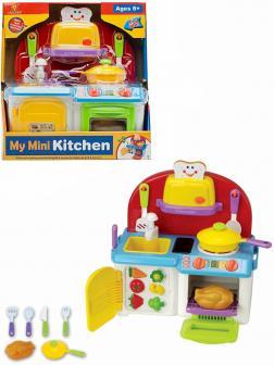 Игровой модуль «Моя кухня» XG1010, с аксессуарами, световые и звуковые эффекты, бежит вода из крана