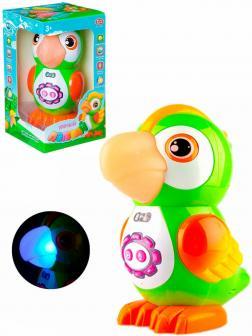 Интерактивная игрушка Play Smart «Умный Попугай» 7496, световые и звуковые эффекты, развивающая