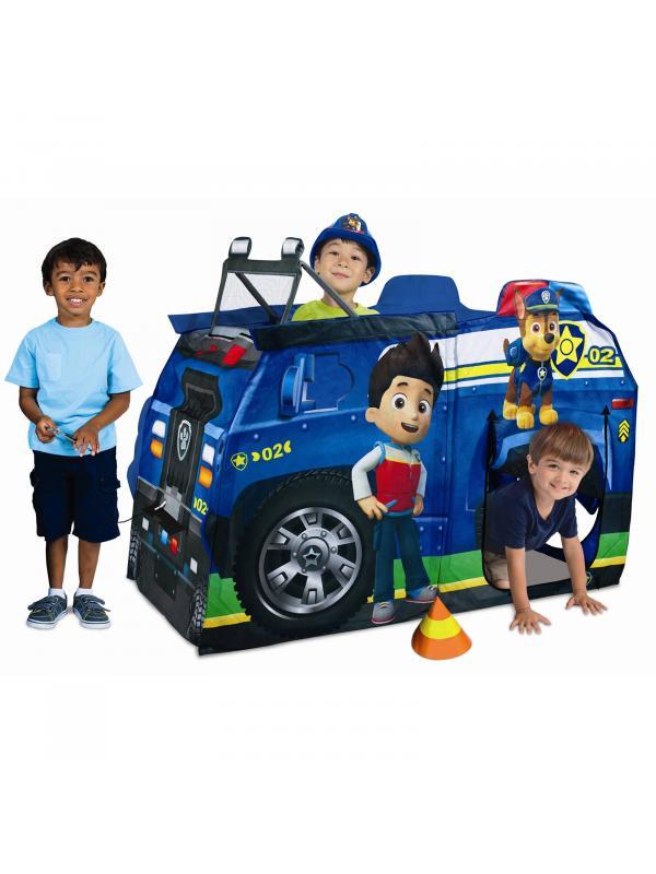Детская палатка «Машинка Щенячий Патруль» 088-А 124х78х138 см.
