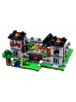 Конструктор Lp «Крепость» 18005 (Minecraft 21127) 795 деталей