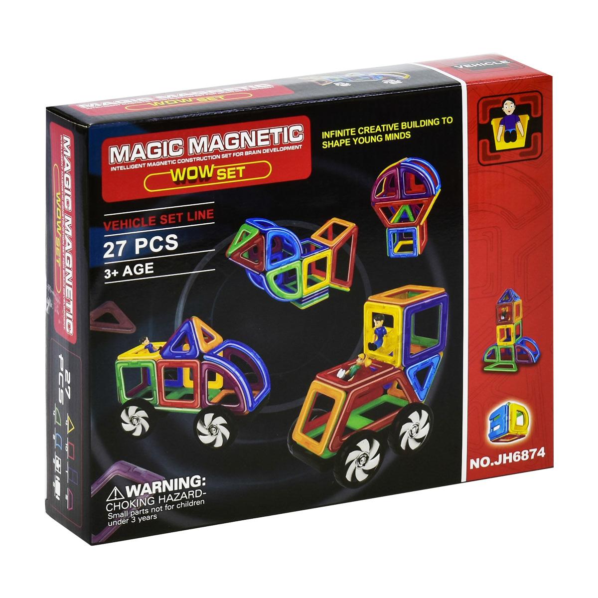 Магнитный конструктор «Magic Magnetic» JH6874 27 деталей