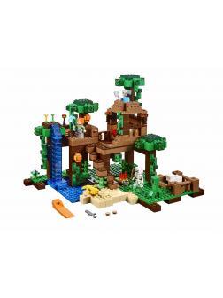 Конструктор Lp «Домик на дереве в джунглях» 18003 (Minecraft 21125) 562 детали