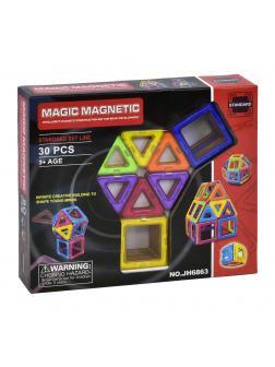 Магнитный конструктор «Magic Magnetic» JH6863 30 деталей