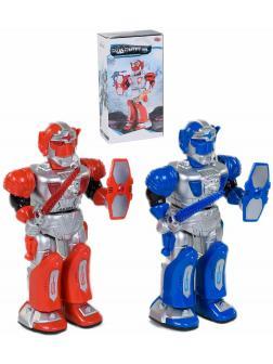Игрушечный робот Play Smart «Робокоп воин» 9893 со звуковыми и световыми эффектами / Микс