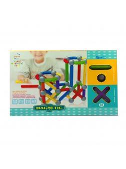 Магнитный конструктор для малышей «Магнетик Блокс» FJ3248 58 деталей