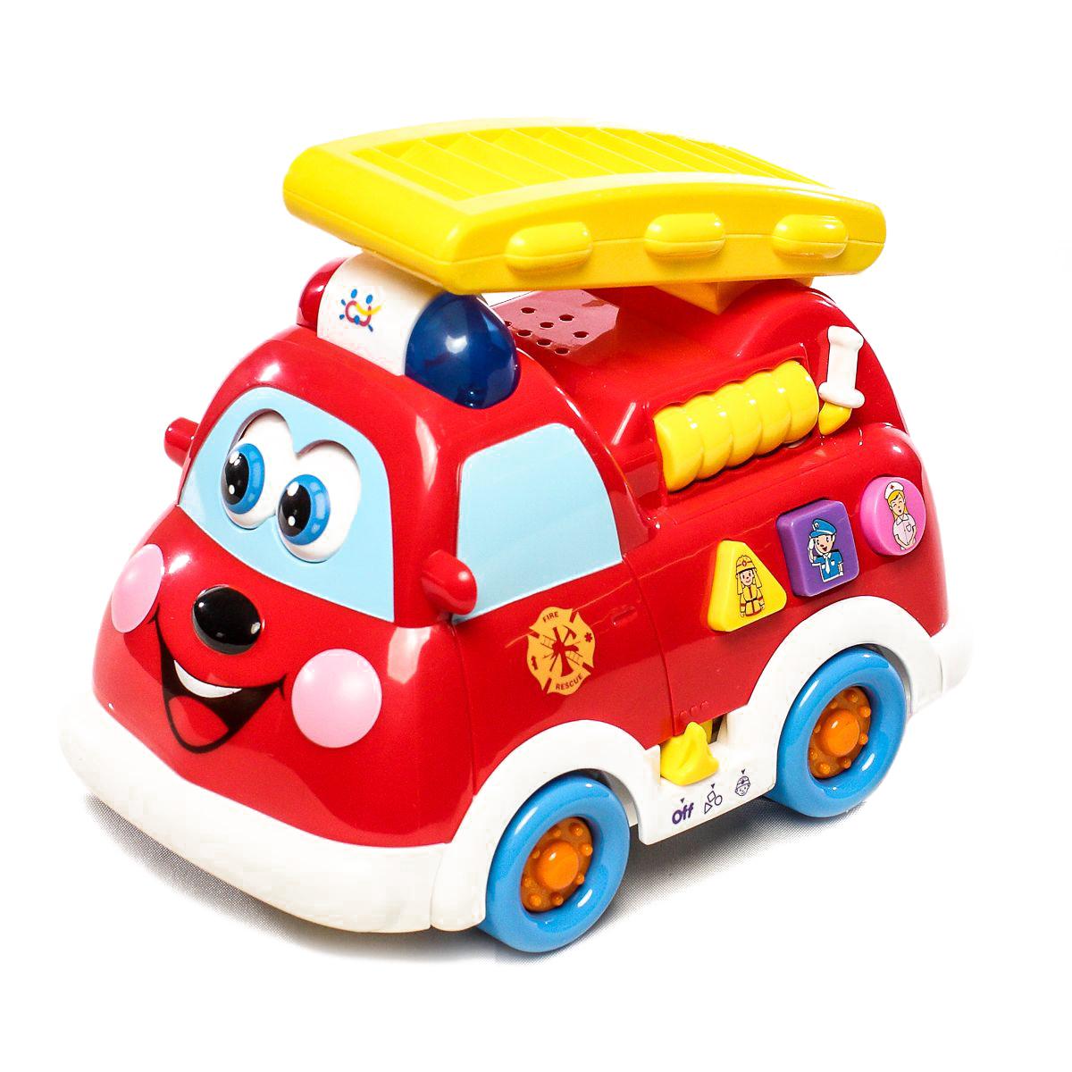 Обучающая игрушка Play Smart  «Пожарная машинка» свет и звук / 9163