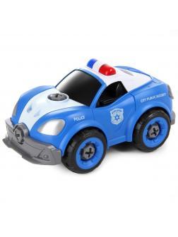 Игровой набор Play Smart «Машина полиции» с отвёрткой и звуком / 1356