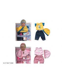 Одежда для кукол Yale baby 2 вида / YLC40N