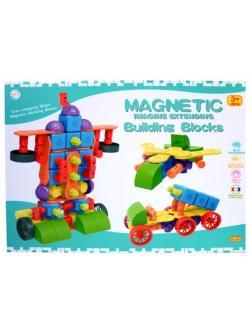 Магнитный конструктор для малышей «Магнетик Блокс» FJ3088 36 детали