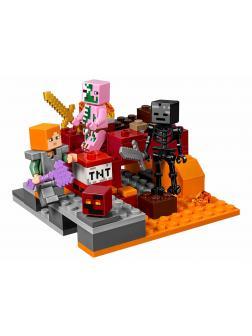 Конструктор Lp «Бой в подземелье» 18034 (Minecraft 21139) 94 детали