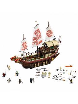 Конструктор Queen «Летающий корабль Мастера Ву» 89043 (НиндзяГо 70618) 2455 деталей