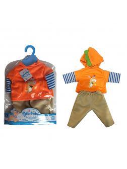 Одежда для куклы 38-43 см «Yale Baby» D207B / кофточка, штанишки