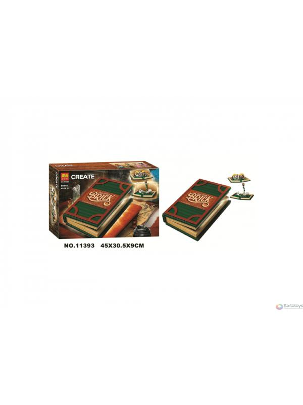 Конструктор Lari «Раскрывающаяся книга» 11393 (Ideas 21315) / 880 деталей