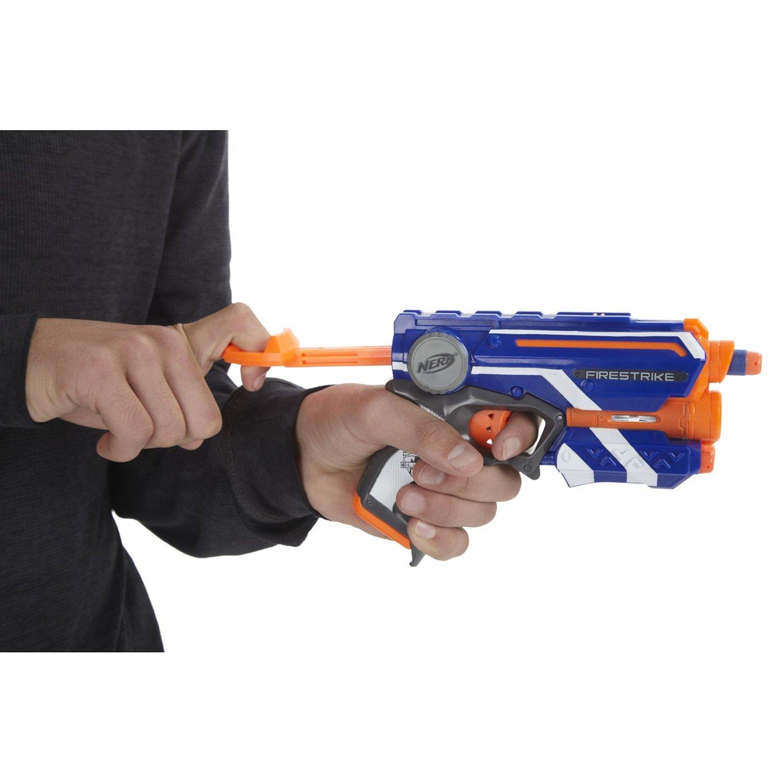 Бластер НЕРФ Элит «Файрстрайк» (Nerf Elite FireStrike ) E0441EU4 Hasbro / Микс