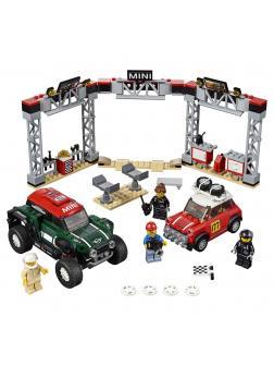 Конструктор Lari «1967 Mini Cooper S Rally ja 2018 MINI John Cooper Works Buggy» 11257 (Speed Champions 75894) / 505 деталей