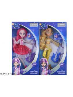 Кукла шарнирная «Звездная принцесса» в коробке, высота 27 см , 2 вида Д090 / Kaibibi