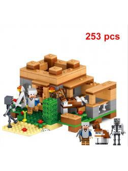 Конструктор QUNLONG «Оборона дома» QL0503 (Minecraft) 253 детали