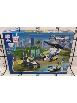 Конструктор Zhe Gao «Водная полиция» QL0203 (City) 296 деталей