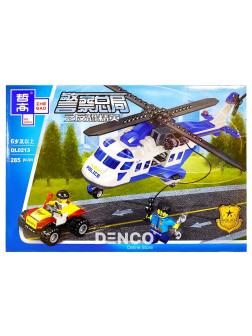 Конструктор Zhe Gao «Погоня на вертолете» QL0213 (City) 285 деталей