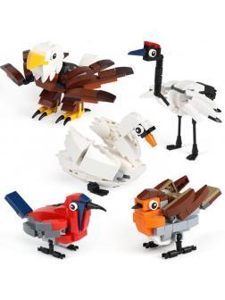 Конструктор Lp «Птицы» 36007 (Hub Birds 4002014) / 545 деталей