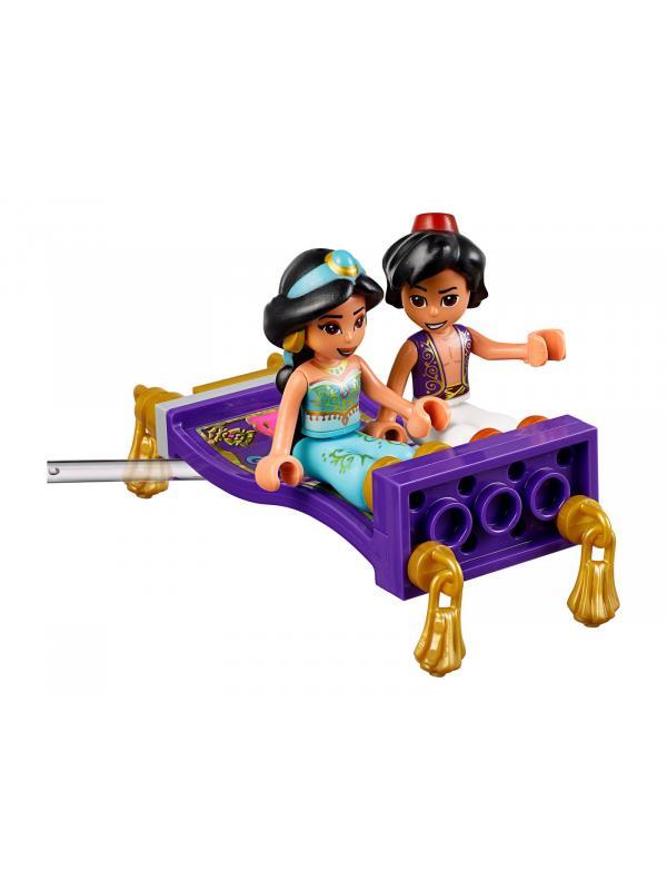 Конструктор LARI «Приключения Аладдина и Жасмин во дворце Эльзы» 11176 (Disney Princess 41161) / 199 деталей